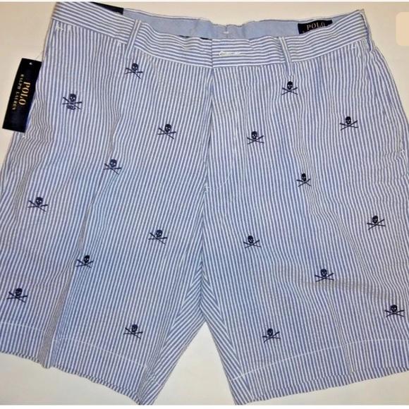 467b948c4d Polo by Ralph Lauren Shorts | Polo Ralph Lauren Skull Crossbones ...